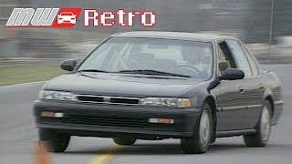 1990 Honda Accord EX   Retro Review