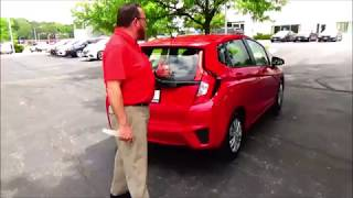 Certified Used 2016 Honda Fit LX for sale at Honda Cars of Bellevue...an Omaha Honda Dealer!