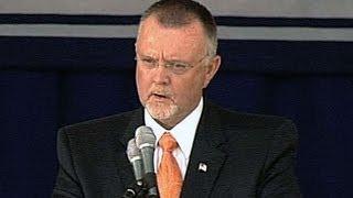 Blyleven speaks at Hall of Fame induction ceremony