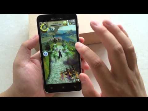Games Test For Original Lenovo A8 A806 4G FDD LTE/WCDMA SmartPhone