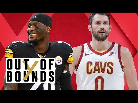 Le'Veon Bell Talks Money; Kevin Love's Mental Health; Clippers' Dating App Deal   Out of Bounds