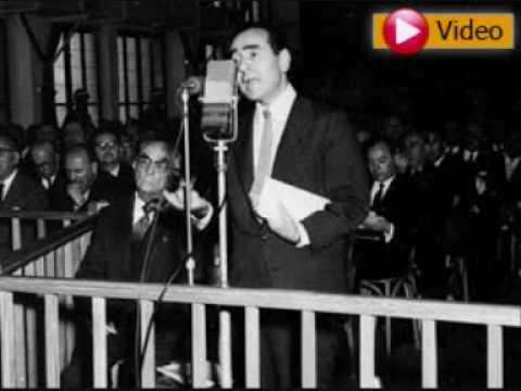 Adnan Menderes son konusmalari