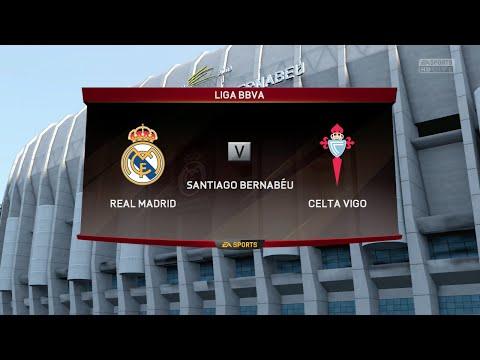 FIFA 16 - Real Madrid vs. Celta de Vigo @ Estadio Santiago Bernabéu