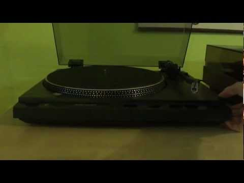 The Vector Research VT-240 Turntable