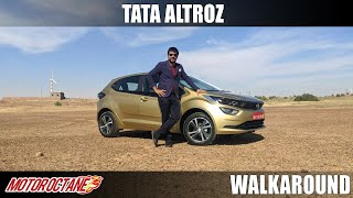 Tata Altroz Walkaround | Hindi | MotorOctane