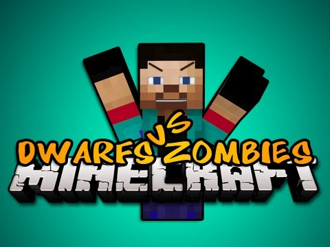 NEW Minecraft: DWARFS VS ZOMBIES SERVER MINIGAME w/NoahCraftFTW