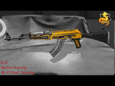 AK - 47 Fuel Injector - Skin Wear Preview