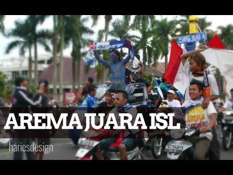 Arema Juara ISL Indonesia Super League
