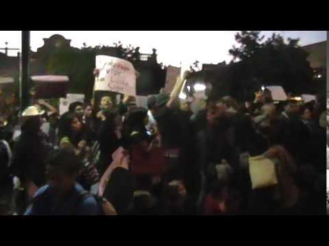 SAN LUIS POTOSI SE UNE ...VIVOS SE LOS LLEVARON VIVOS LOS QUEREMOS: VIDEO / HECTOR  M GUEVARA