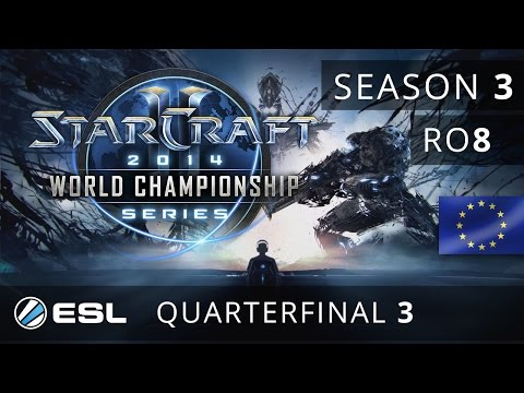 Bunny vs. San (TvP) - Quarterfinal - WCS Europe 2014 Season 3 - StarCraft 2