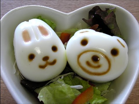 ゆでたまごっこ Kawaii boiled egg rabbit and bear