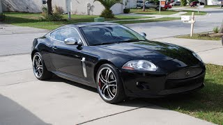 2007 Jaguar XK Coupe Walkaround and Startup