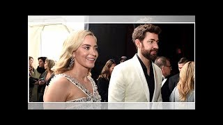 John Krasinski And Emily Blunt Enjoy A Night Out At The Movies