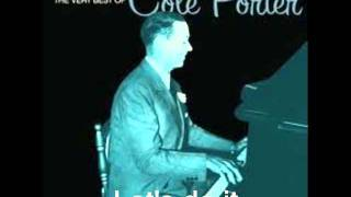 Let's do it :  Cole Porter.( Midnight in Paris )