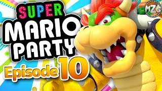 Super Mario Party Gameplay Walkthrough - Episode 10 - Partner Party! Bowser & Rosalina! (Switch)