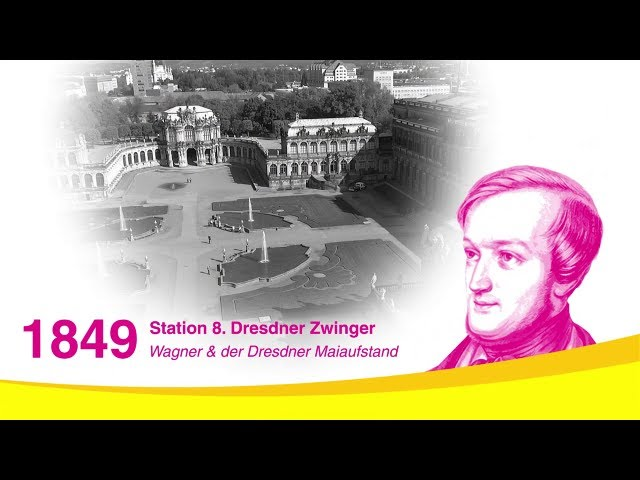 Richard Wagner in Dresden: Der Zwinger