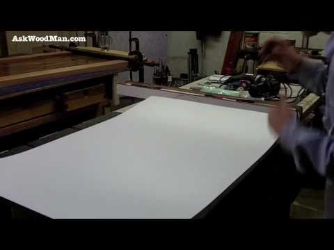 How To Cut Laminate � Using Laminate In Your Woodworking Shop - 1 of 4
