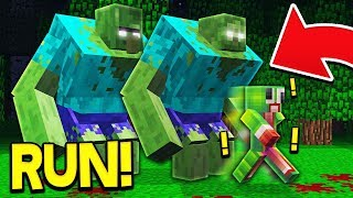 ZOMBIES TAKE OVER MINECRAFT!