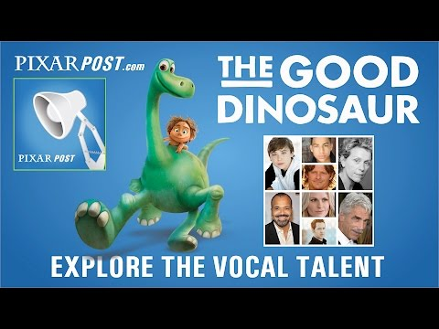 Go Inside 'The Good Dinosaur' Recording Booth & Explore The Vocal Talent
