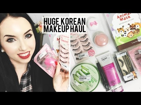 HUGE KOREAN MAKEUP & SKINCARE HAUL | YesStyle