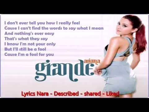 download lagu Ariana Grande Just A Little Bit Of Your Heart  S On Screen   2014 gratis