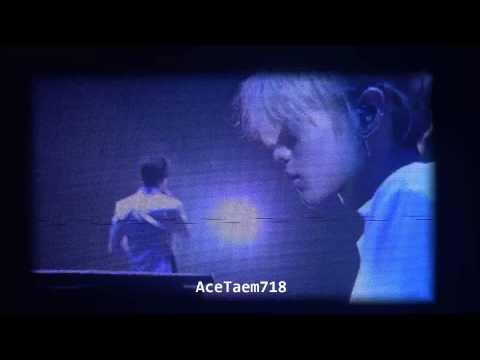 150315 SHINee TOKYO DOME - Rainy Blue [Onew solo with Taemin (piano)]