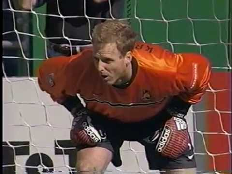 April 10th, 1999 The San Jose Clash take on the Kansas City Wizards in a shootout. Chris Snitko received a red card in the 1st round and was replaced by David Winner.