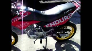 2009 TMEC 200cc TMEC200-1 Enduro Dual Purpose Supermoto Motorcycle