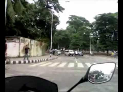 Dhaka University Area (23 08 2012) video