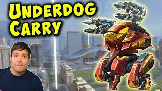 The Underdog Carry - War Robots Gameplay on my Account WR