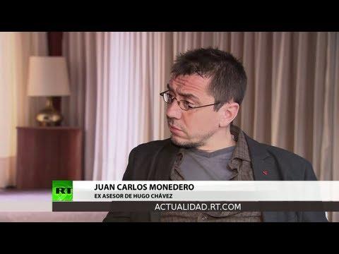 Entrevista con Juan Carlos Monedero, ex asesor de Hugo Chávez
