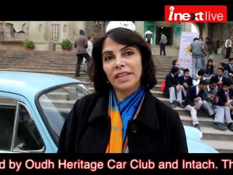 Annual heritage vintage car rally in Lucknow