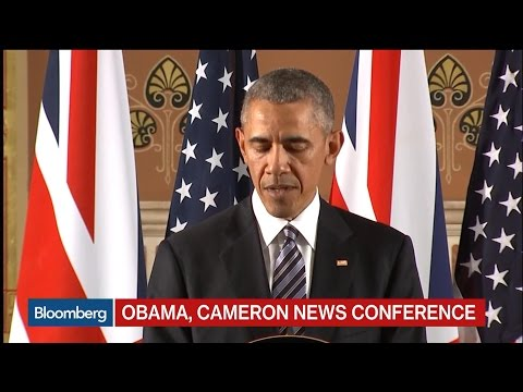 Obama: U.K. at Best Helping to Lead Strong Europe