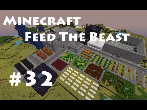 Minecraft Feed The Beast  E32 - Moving - Part 2, Road Buildi