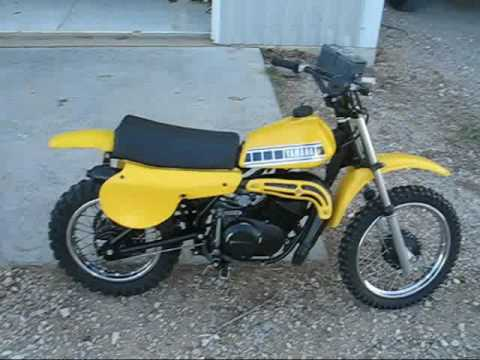 1980 yamaha yz50 sold cold start dirtbike youtube
