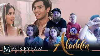 Disney's Aladdin Official Trailer- REACTION and REVIEW!!!