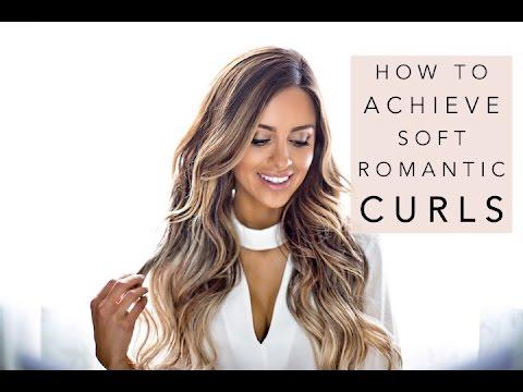 HOW TO ACHIEVE SOFT ROMANTIC CURLS   Mia Mia Mine