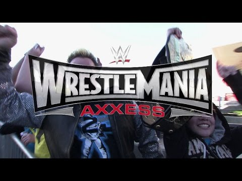 Wrestlemania Axxess - Tickets Available Saturday, January 31 At 9a.m. Pt video