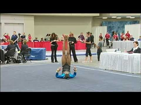 Robyn Bernard (Hill's) - 2010 JO Nationals - Floor