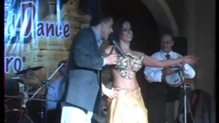 Giselle Belly Dancer Performing With Live Band - Cairo