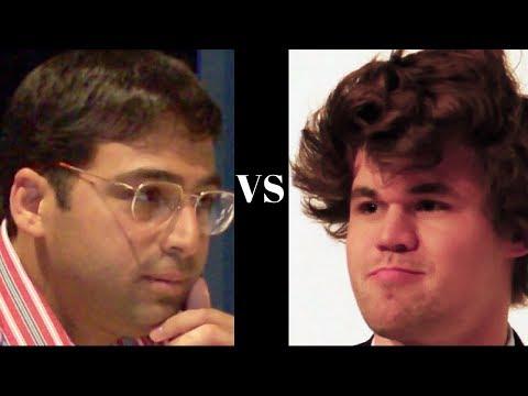 Amazing Game: Vishy Anand vs Magnus Carlsen - Tata Steel (2013) - Russian Game
