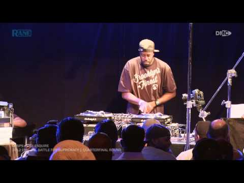 DJ SPS vs. DJ Esquire || 2012 DMC U.S. Battle For Supremacy [Quarterfinal Round]