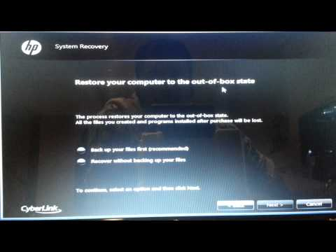 Windows 7 factory reset. How to restore ANY windows 7 to factory settings. reinstall windows simple