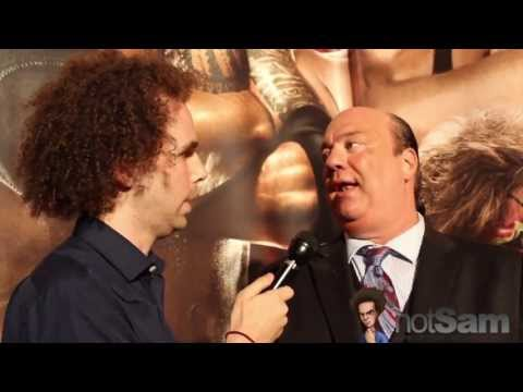 Sam Roberts & Paul Heyman on Vince McMahon, Brock Lesnar, Anthony Weiner, & The Haps