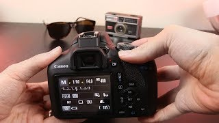 01. Canon T7 (1500D) Tutorial - Beginner's User Guide to Buttons & Menus