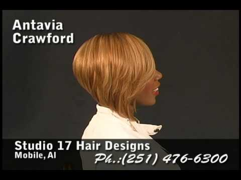 Antavia Crawford's Hi Lited One Sided Razor Cut Bob Hairstyle