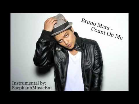 Count On Me (instrumental) - Bruno Mars - Sme video