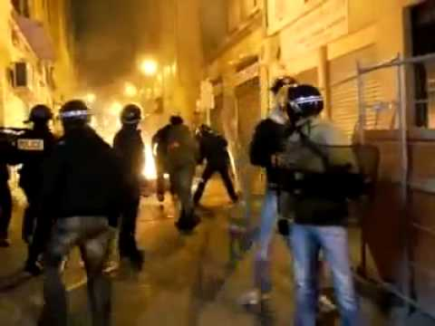 Riots in France by Algerian immigrants after the loss from Egypt 2 0