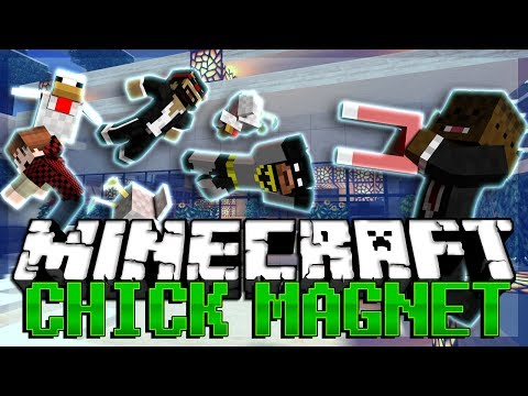 Minecraft Chick Magnet w/ CaptainSparklez, BajanCanadian, and xRPMx13