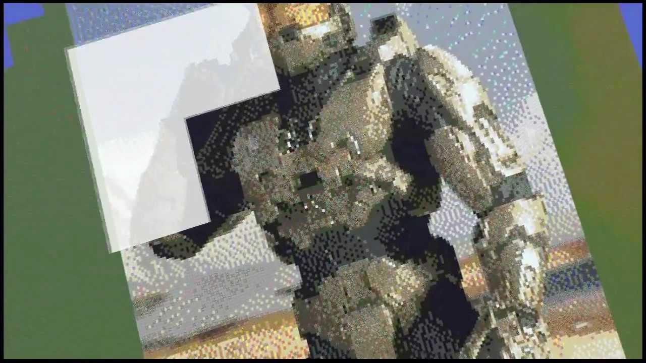 minecraft epic pixel art hd youtube